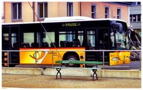 La pause du bus en Suisse