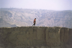 Marina Abramovic. The Great Wall Walk.
